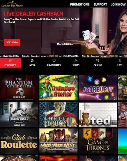 Casino Big Apple Review