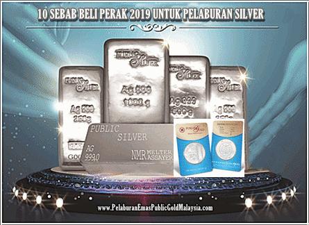 10-Sebab-Beli-Perak 10 SEBAB BELI PERAK 2019 UNTUK PELABURAN SILVER
