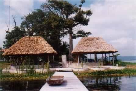 Santa Barbara Tikal. Best family accommodation in Flores