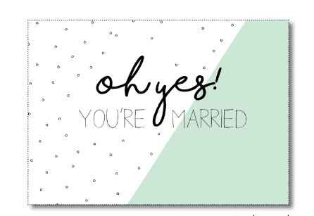 ansichtkaart-oh-yes-married-miekinvorm