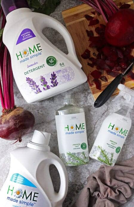 Cleaning Laundry With Home made simple products