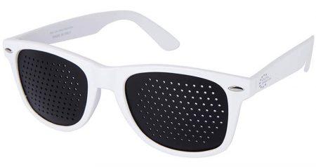 Occhiali stenopeici Classic White Dual Dream ®