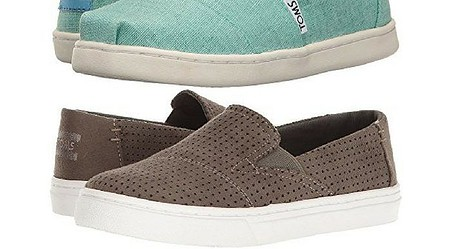 Toms espradrille like sneakers are perfect for active teens in the summer.