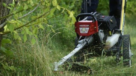 Best Walk Behind String Trimmer Review_ Top 5 Push Weed Eaters 2019