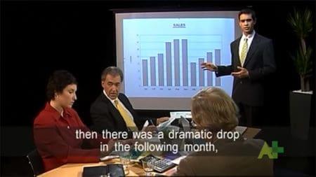 Angol video Business of English