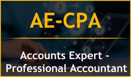 AE-CPA  Accounts Expert – Certified Professional Accountant