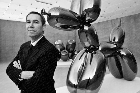 Jeff Koons Portrait Kunsthaus Bregenz.
