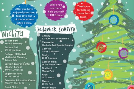 recycle your tree and get free mulch