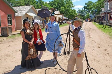 Wichita Steampunk Day at Old Cowtown Museum