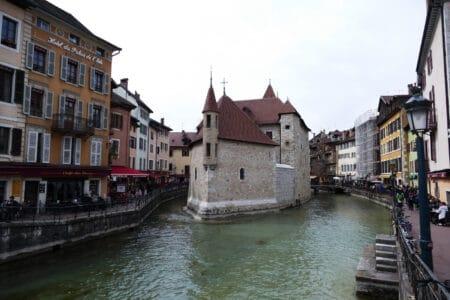 Brücke in Annecy