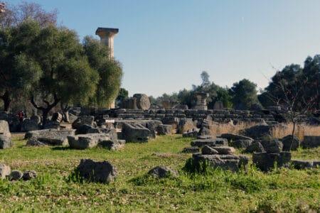 Zeustempel in Olympia