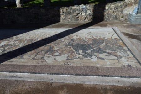 Pompeji Mosaik