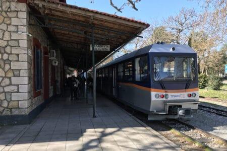 Zahnradbahn - Bahnhof Kalavryta