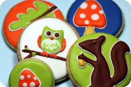 How to Decorate Cookies - Owl and Autum Decorated Cookies