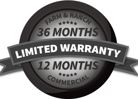 Limited Warranty For Farm, Ranch, and Commercial Tools