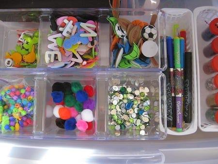 Toy Storage: Arts and Crafts Supplies Organization