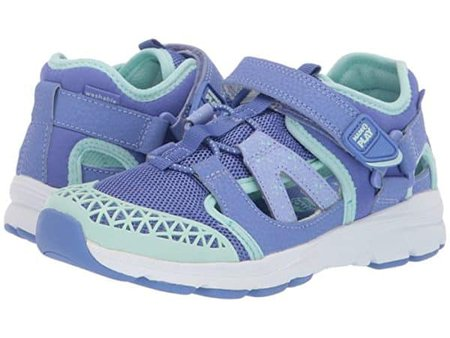 The gender-neutral nesta is a great summer shoe from stride rite.