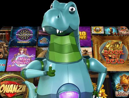 LuckyDino Online Casino Games