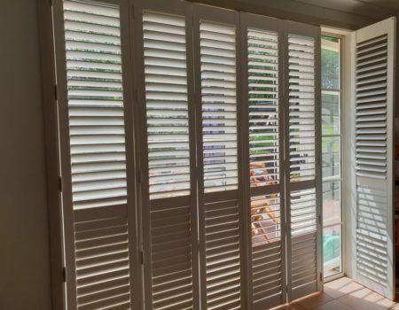 PVC shutters in Muriwai