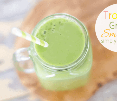 Tropical Green Smoothie featured image