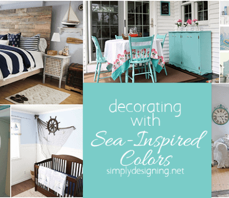 Decorating with Sea Inspired Colors Featured Image