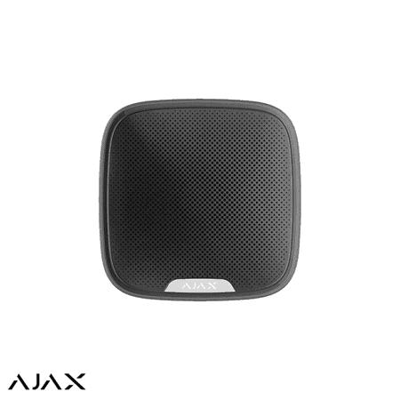 Ajax draadloze buitensirene zwart