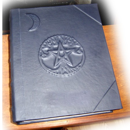 Pentacle Tree of Life Wiccan Book of Shadows