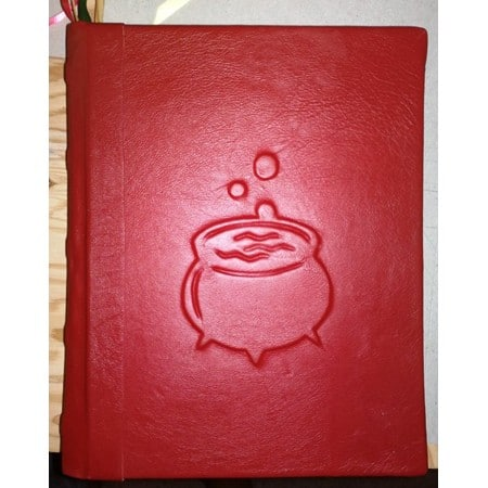 Kitchen Witch Magic Grimoire - Magic Cookbook