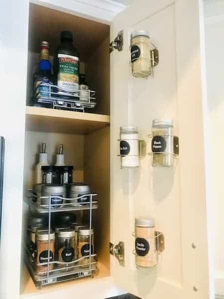 Spice Storage for a Small Kitchen