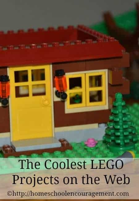 LEGO projects - we've found the cooled of the cool from around the web -- share these with your kid and inspire your homeschool!