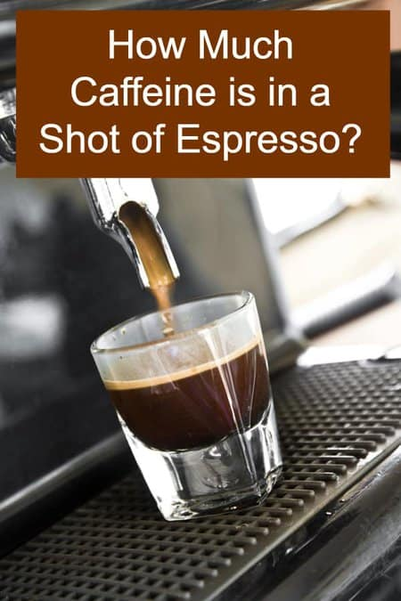 How much Caffeine does an Espresso shot have?