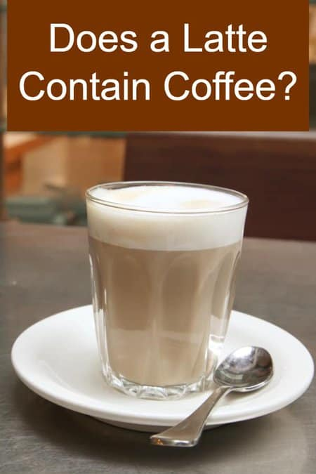 Does a Latte Contain Coffee or Espresso?