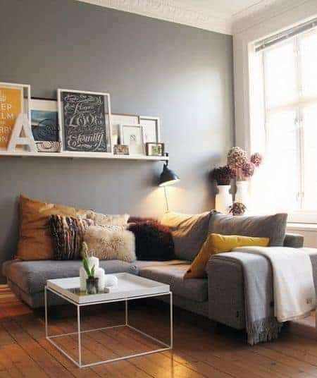 Elegant apartment decorating