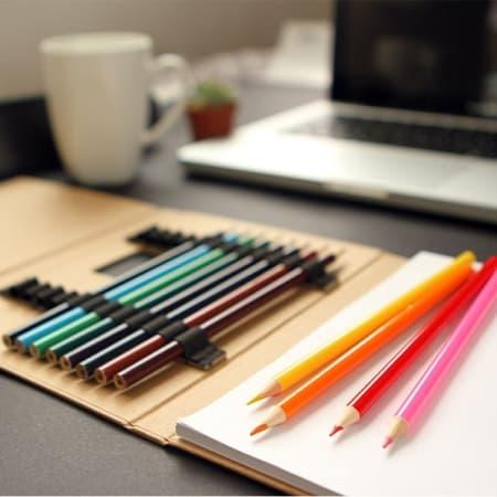 Set ecológico 12 lápices