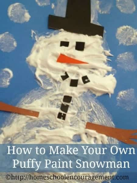 It's time to think about all things snow.  This fun Puffy Paint snowman will get your kids off to a good start. Visit our page to learn how.