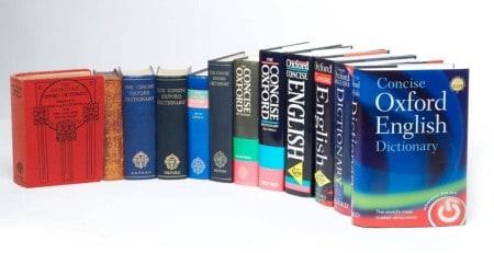 Oxford egynyelvű szótárak