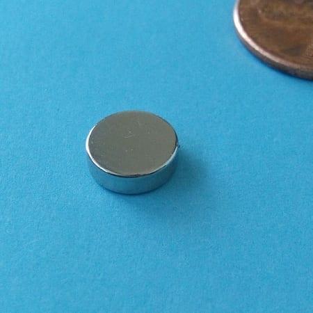 Disk Sensor N35SH NiCuNi D8mmx2.5mm(A)