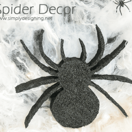 DIY Spider Decor | #halloween #halloweendecor #crafts #spider