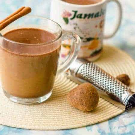 Jamaican hot chocolate