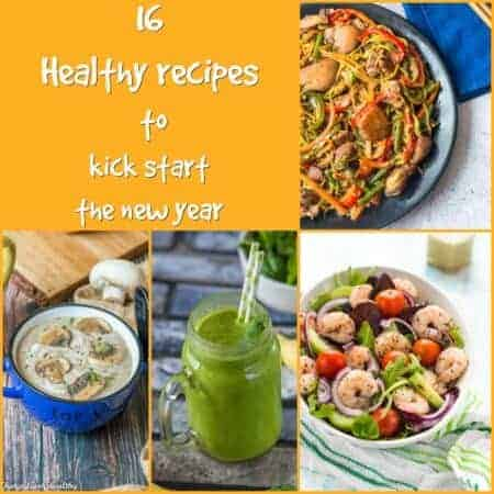 16 healthy recipes