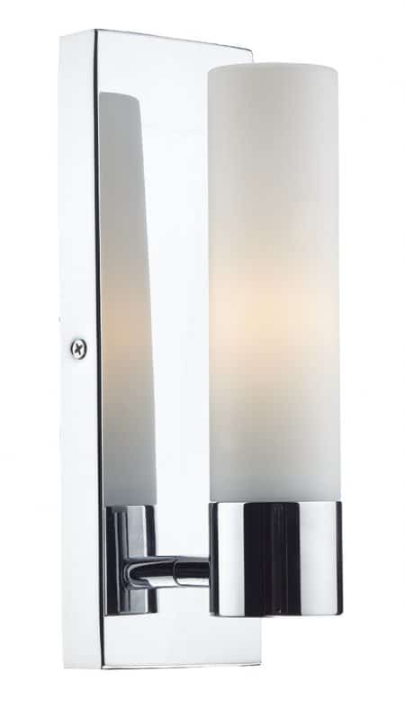 Där ADA0750 Adagio 1 Light Wall Bracket Polished Chrome IP44