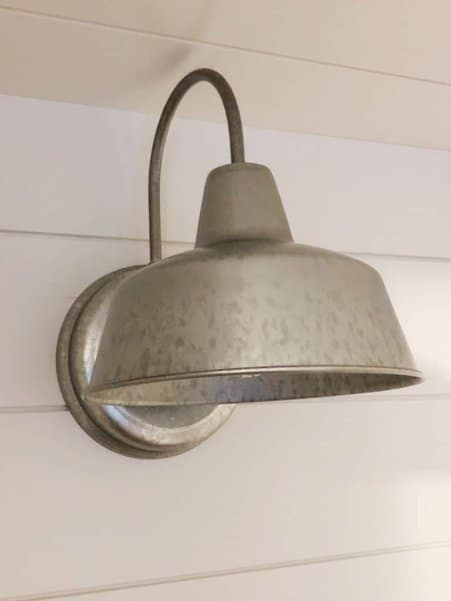 wet bar galvanized light