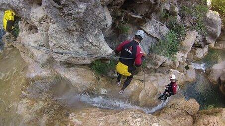 Sport Canyoning