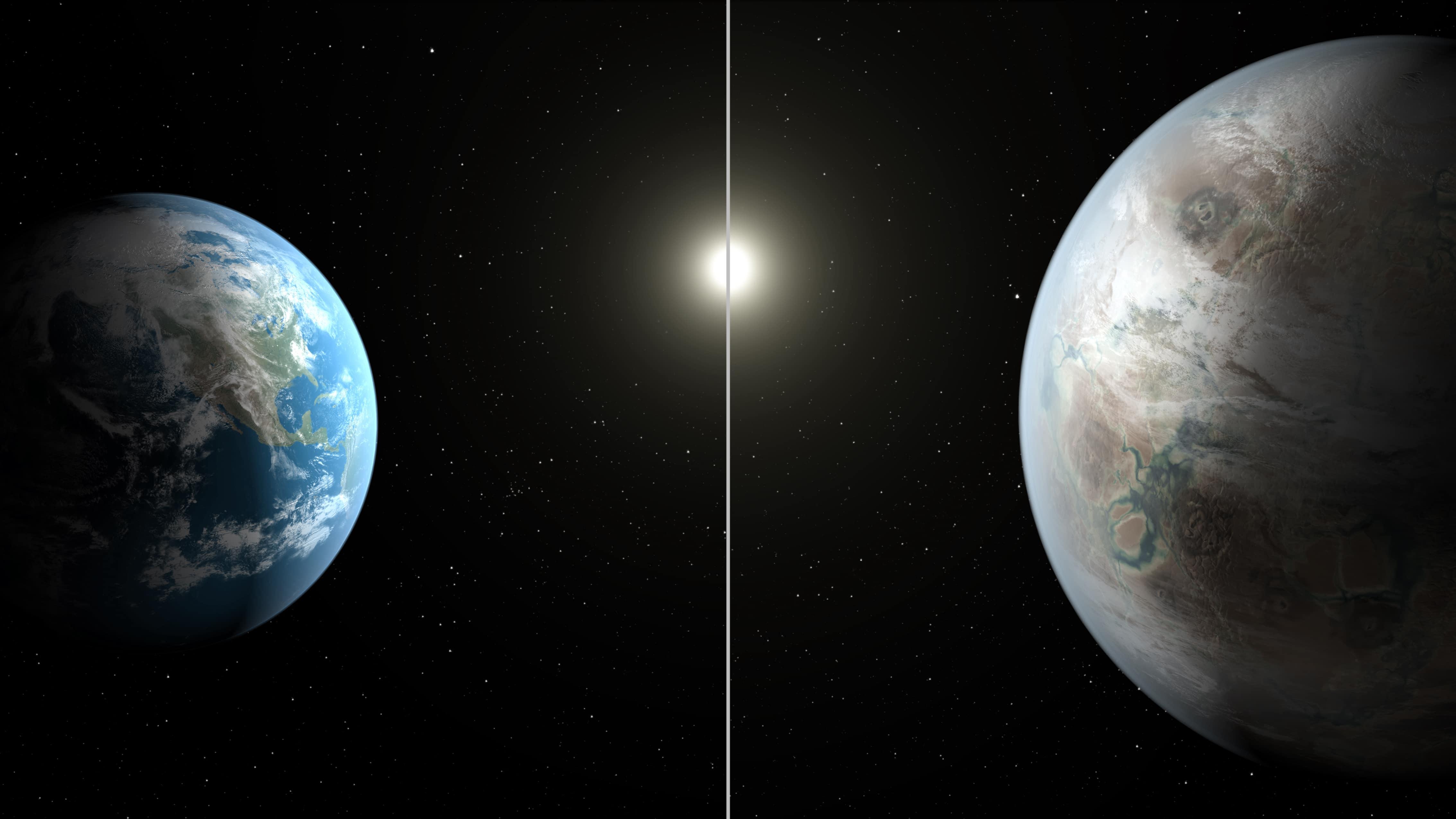 Photo of В NASA  представили двойника Земли В NASA  представили двойника Земли В NASA  представили двойника Земли 452b artistconcept comparisonwithearth