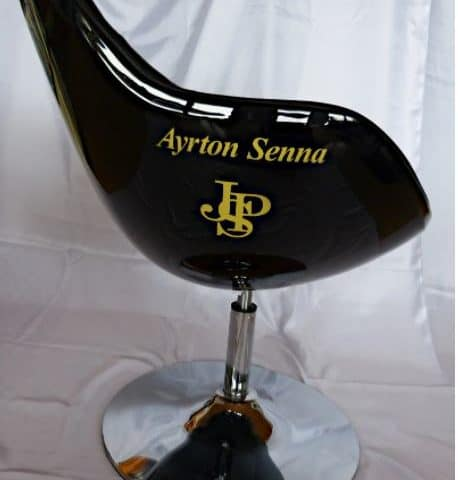 AYRTON SENNA LOTUS CHAIR - HANDPAINTED