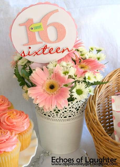 Sweet 16 Party Bouquet by Echoes of Laughter | Living Locurto