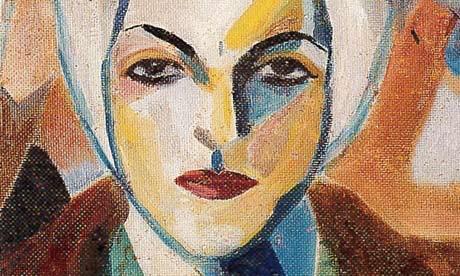 Saloua Raouda Choucair, Self-Portrait (detail), 1943