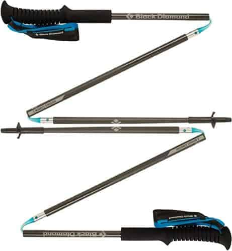 Collapsible hiking poles fit in your suitcase and are easy to keep in your daypack. They'll keep you and your kids going on long and steep hilkes.