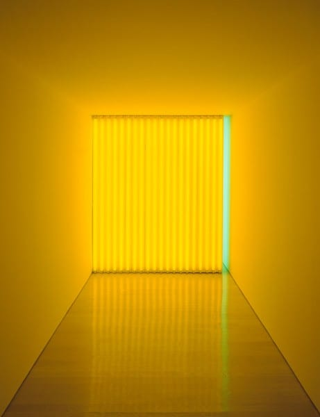 Dan Flavin, Untitled (To Jan and Ron Greenberg), 1972-73. Photo: David Heald, courtesy of Guggenheim