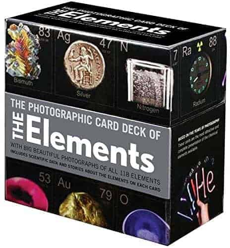 Periodic Table of the Elements Card Deck,